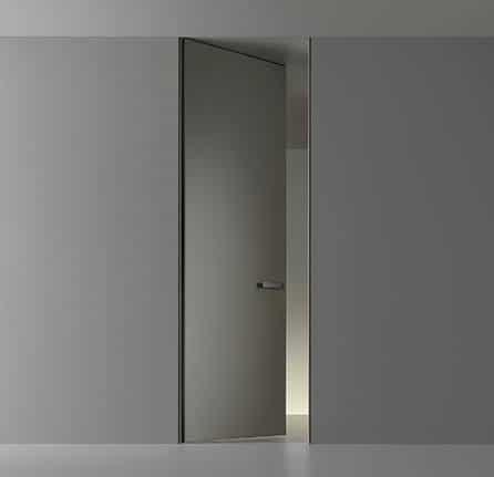 Design kozijnloze binnendeuren