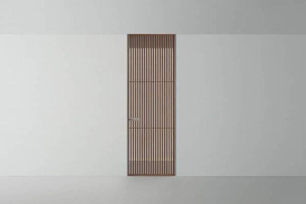 italiaanse design binnendeur rimadesio sail met verticale profielen