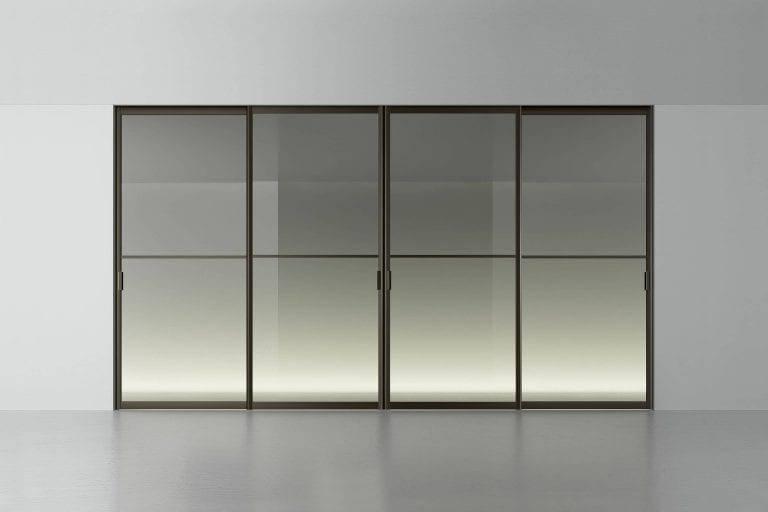 design aluminium steel look deuren op maat