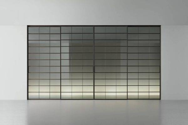 design glazen schuifdeuren met vlakken rimadesio soho