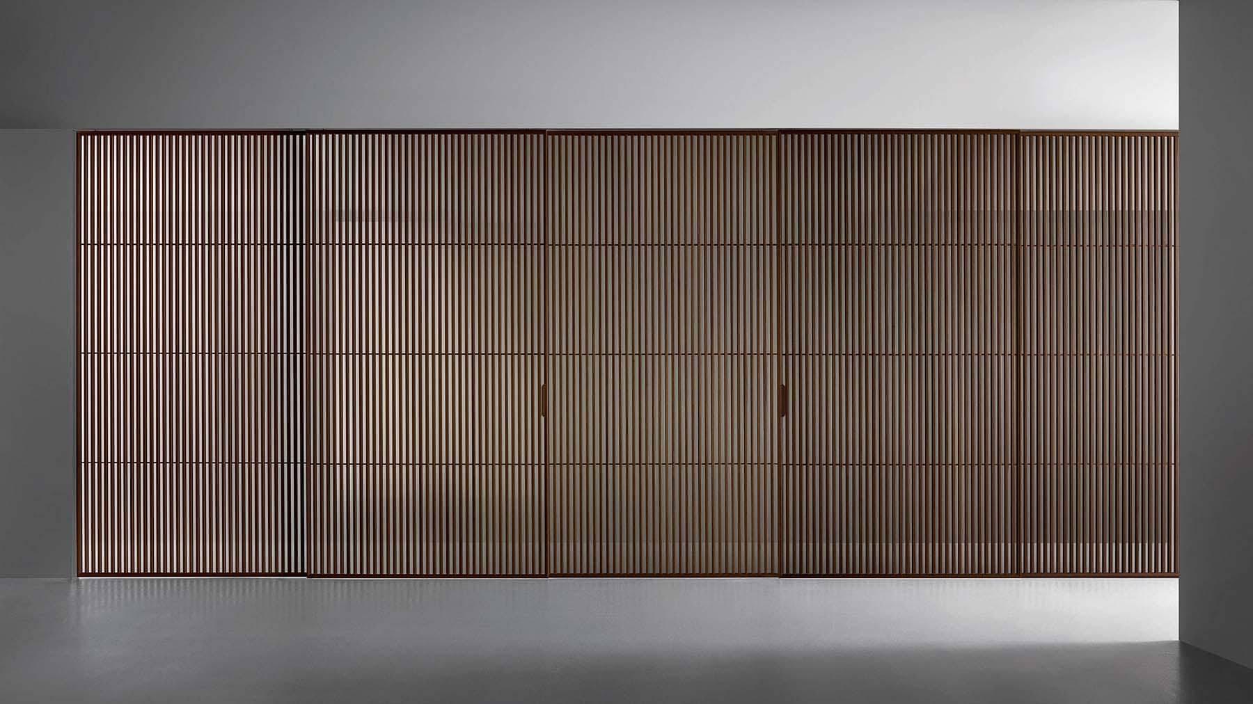 design japanse schuifdeuren hout en glas rimadesio