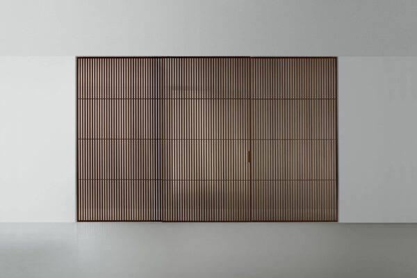 luxe japanse schuifdeuren in hout en glas