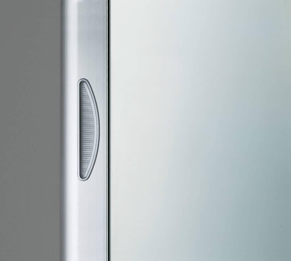 727 geïntegreerde greep in aluminium