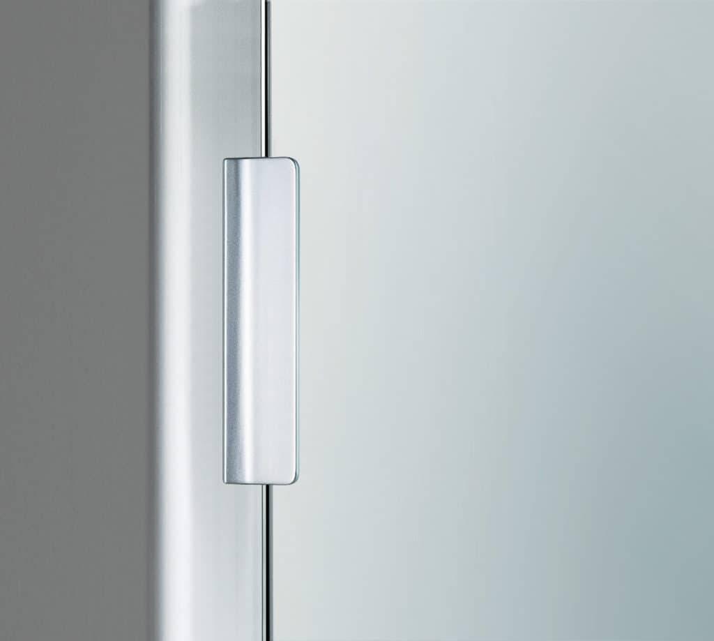 773 rechthoekige greep in aluminium