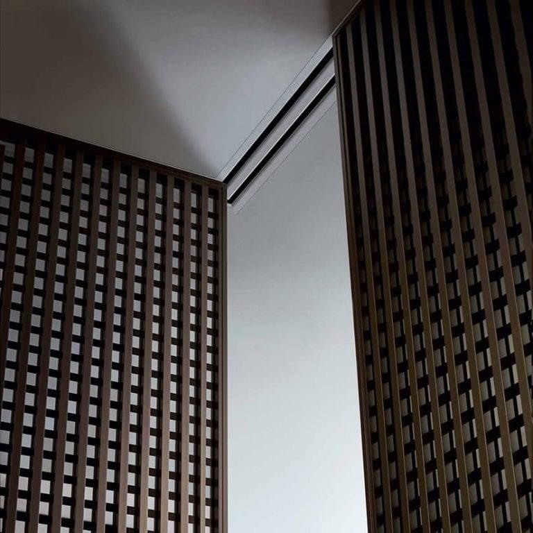 moderne japanse schuifdeur hoek opstelling rimadesio