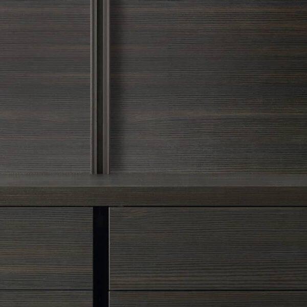 achterpaneel hout inloopkast rimadesio dress bold