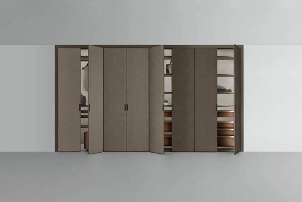 rimadesio cover garderobekast voor niches weggewerkt in de muur