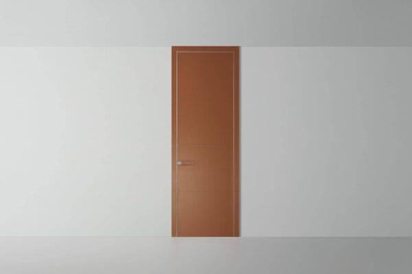 luxe lederen kamerhoge binnendeur met lederen deurstijl rimadesio luxor