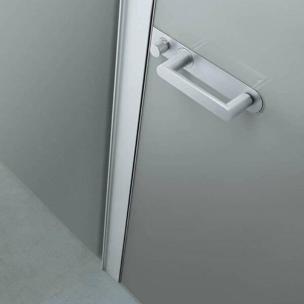 deurgreep link plus glazen deur