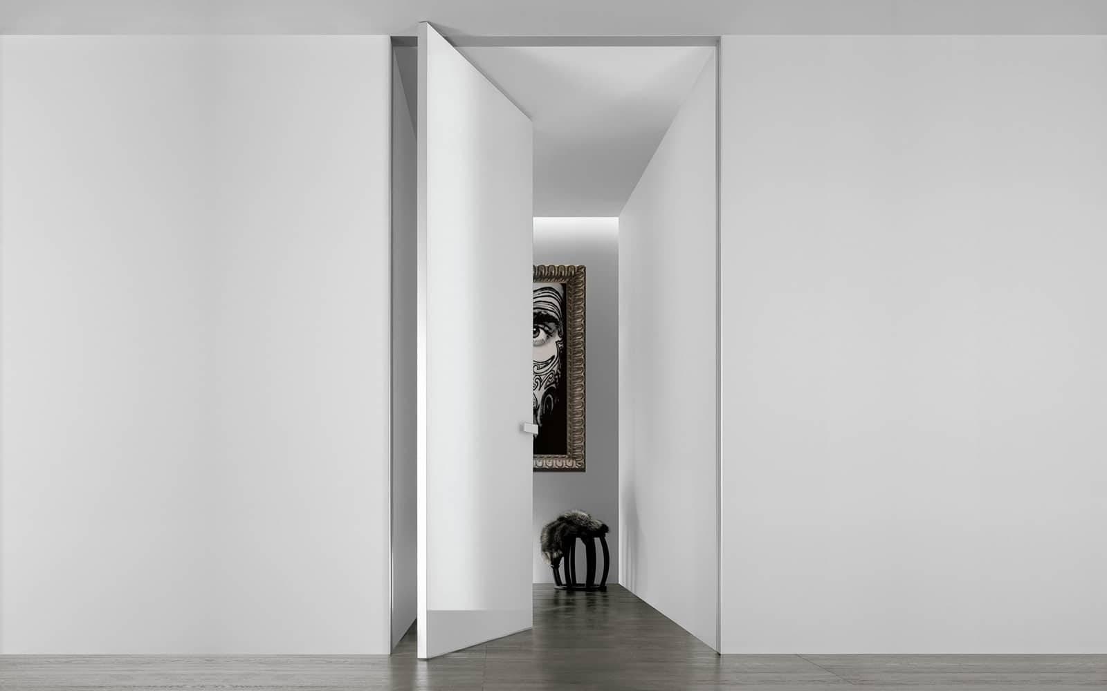 italiaanse design taatsdeur wit glas
