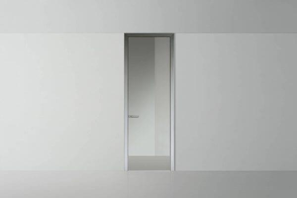 luxe glazen binnendeur