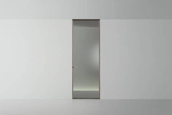 rimadesio deuren vela met glas en aluminium kader