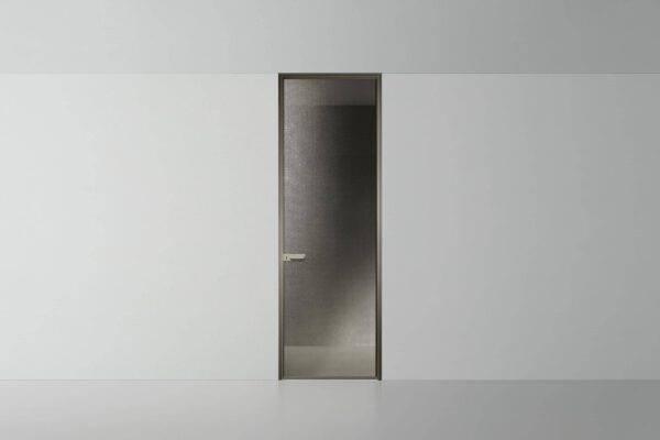 italiaanse kozijnloze glazen binnendeur Rimadesio Zen
