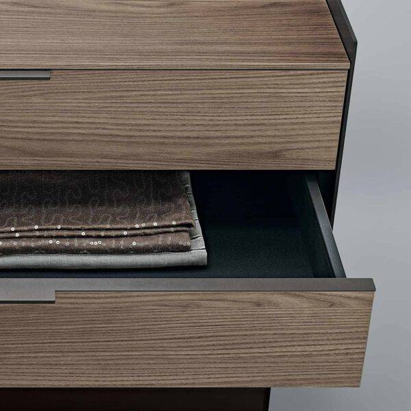 design houten ladenblok maatwerk inloopkast rimadesio