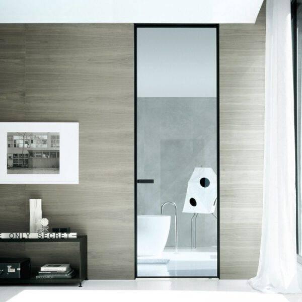 luxe minimalistische taatsdeur op maat in glas rimadesio vela