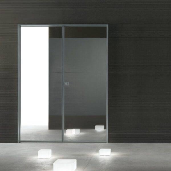 luxe glazen dubbele binnendeur op maat rimadesio spin