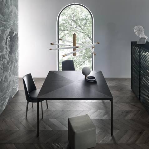 design_zwart_eiken_eettafel_geborsteld_lood_rimadesio_flat_table