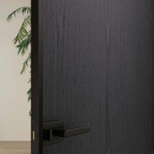 Glasitalia sherazade draaideur in donker hout