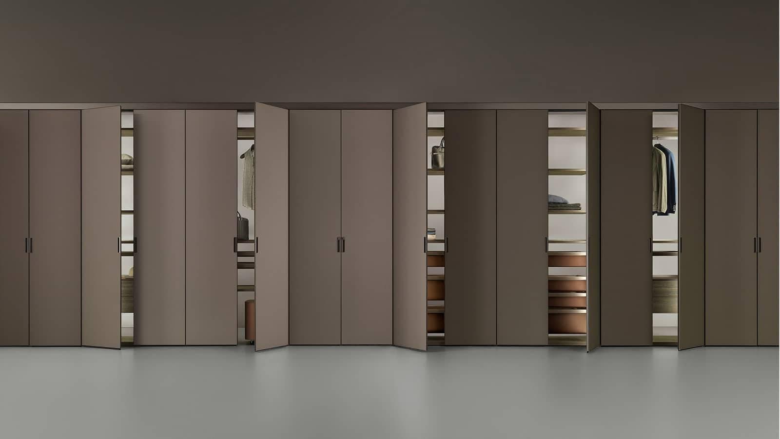 luxe inbouw garderobekasten maatwerk inteirieurbouw in aluminium en glas Rimadesio cover