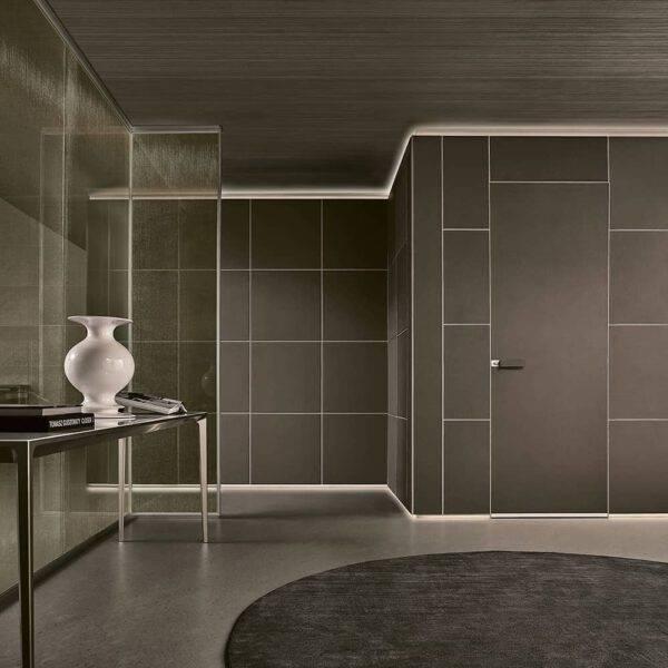 luxe interieurpanelen in kunst leder Rimadesio Modulor
