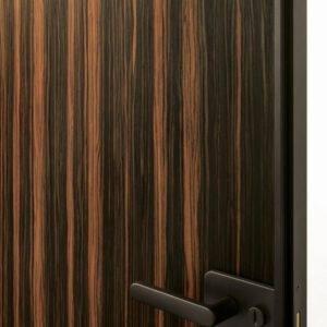Glasitalia sherazade draaideur in hout