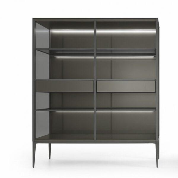 moderne_wandkast_boekenkast_in_glas_en_aluminium_rimadesio_alambra