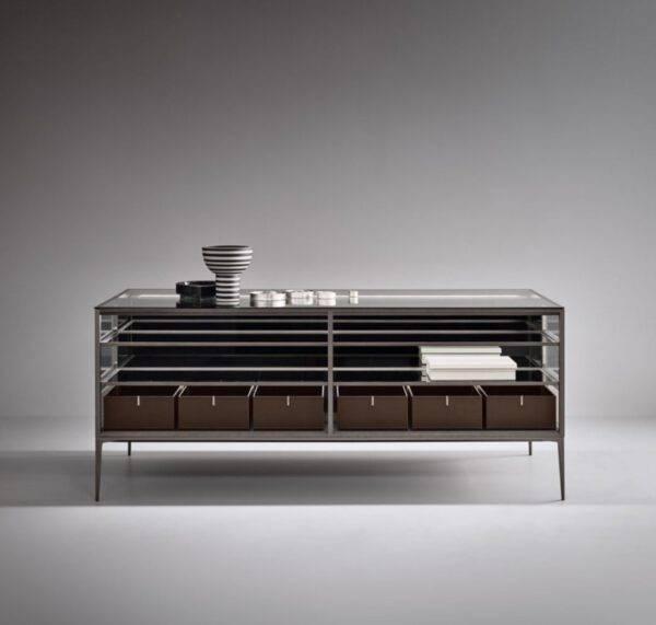 Luxe display kast voor sierraden en accessoires italiaans design rimadesio Alhambra isolatie