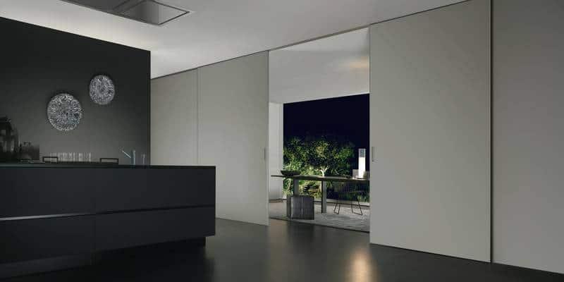 Design Glazen Schuifdeuren Als Roomdivider Rimadesio
