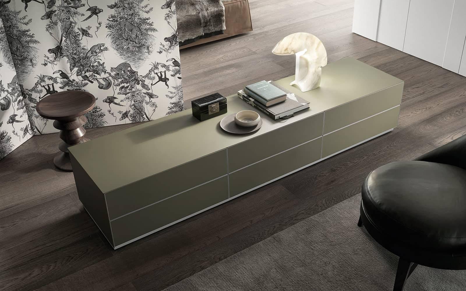 design lage ladenkast slaapkamer rimadesio self