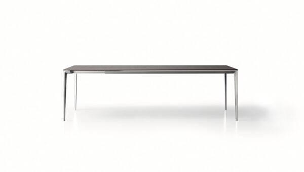 design uitschuifbare tafel italiaans design rimadesio