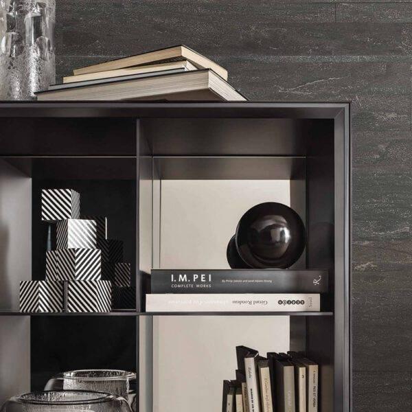 italiaanse design boekenkast op maat_