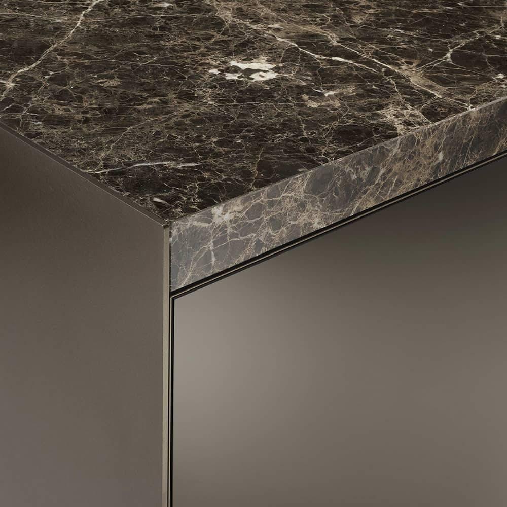 italiaanse design dressoir met marmer blad rimadesio self bold