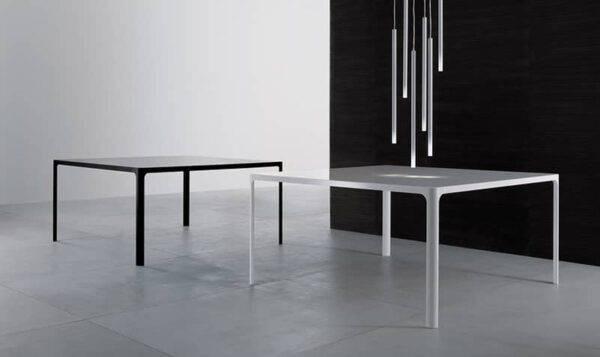 moderne vierkante glazen tafels rimadesio flat