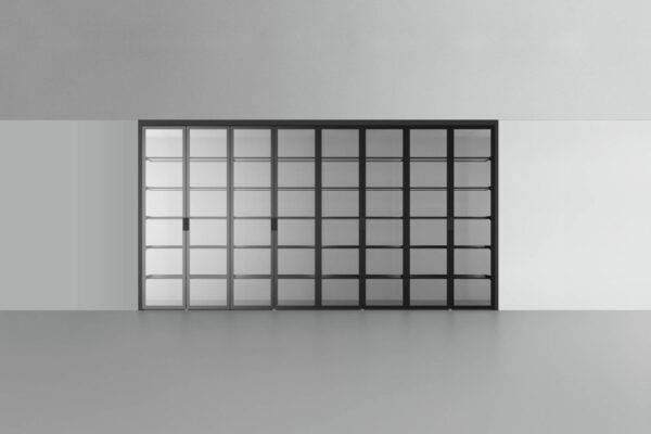 rimadesio cover vitrinekast inbouw