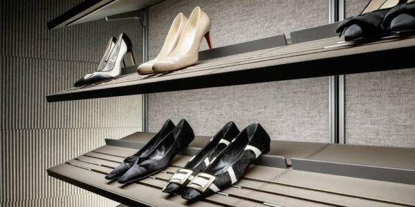 schoenenlegplank voor inloopkast rimadesio dress bold