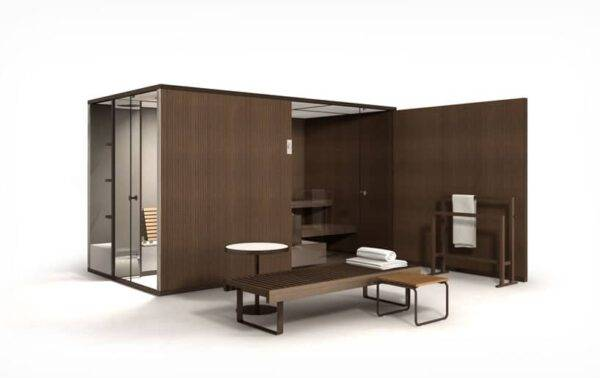 EFFEBIGI-bodylove-modulaire sauna en stoomcabine