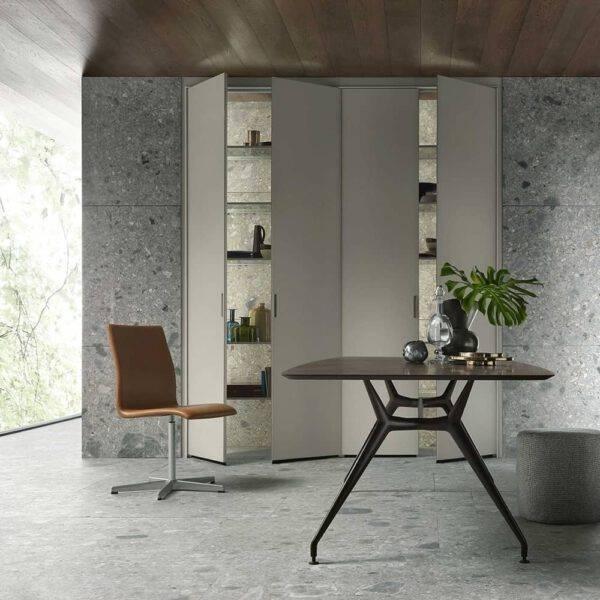 design wit glazen inbouwkast voor keuken rimadesio cover_