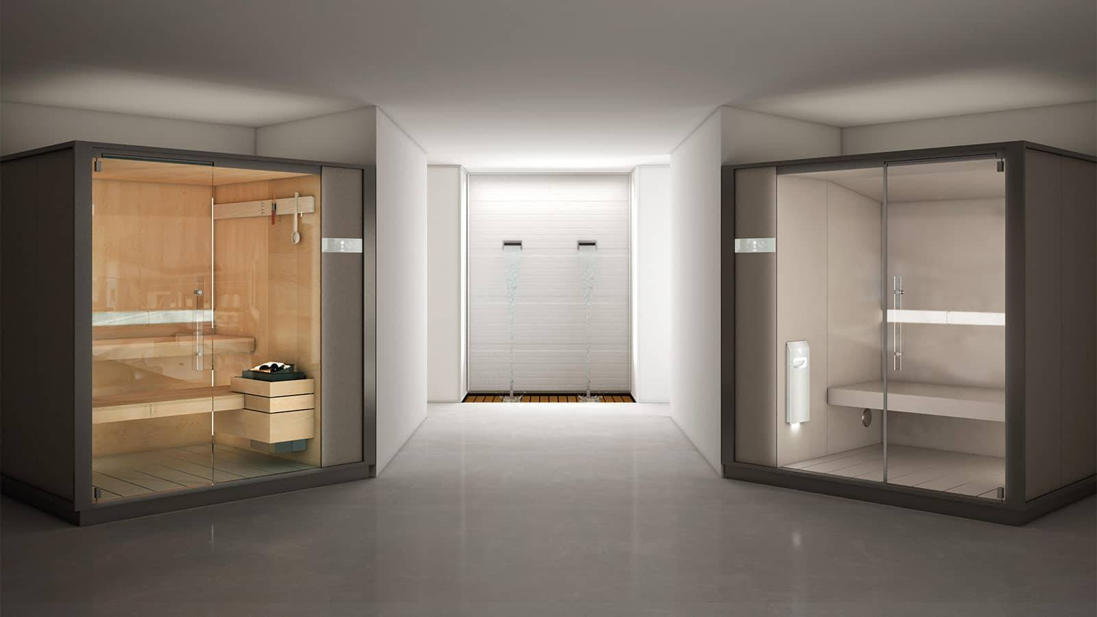 moderne prive sauna design op maat effegibi one s
