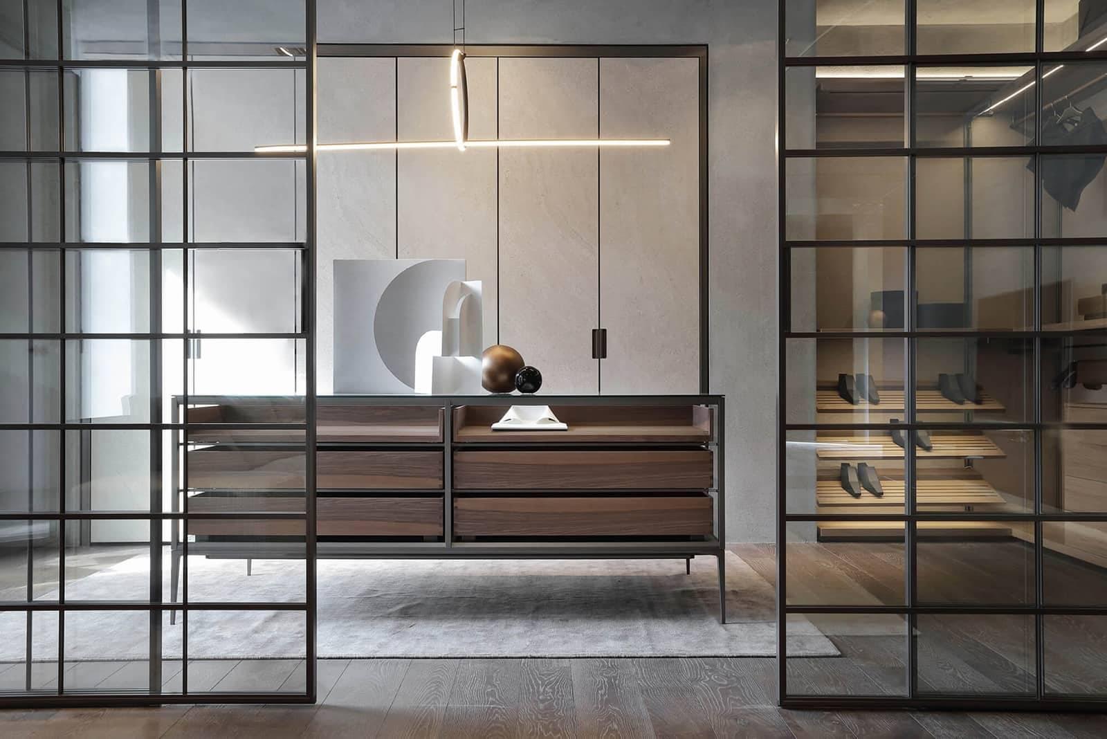 rimadesio alambra isola dressoir voor inloopkast italiaans design