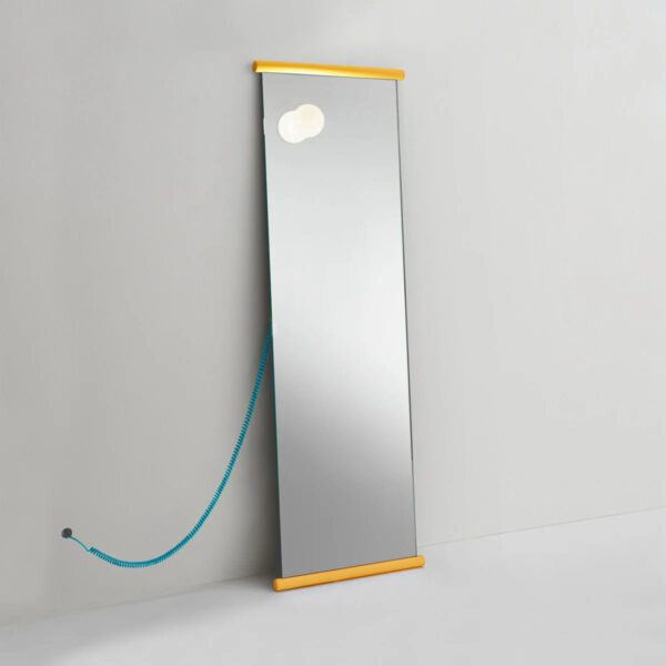 Luxe-Italiaanse-Design-Spiegel-Lamp-Licht-Staande-GlasItalia