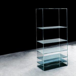 Glasitalia design boekenkast en tafel Deep Sea