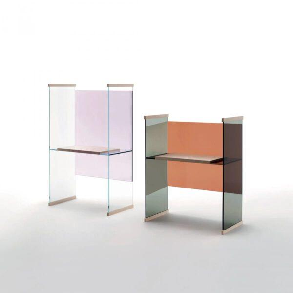 Design-Luxe-Italiaanse-Glazen-Bureau-Boekenkast-It