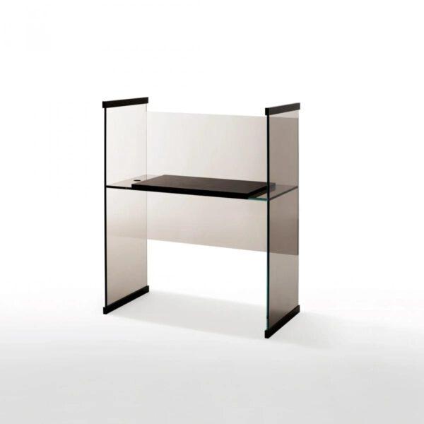 Diapositive-Glazen-Luxe-Italiaanse-Boekenkast-Bureau-GlasItalia