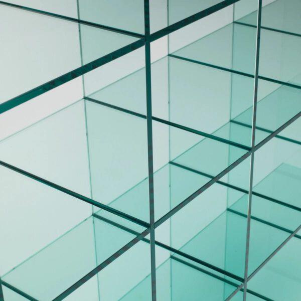 Exclusieve-Italiaanse-Glazen-Boekenkast-Wandmeubel-GlassItalia