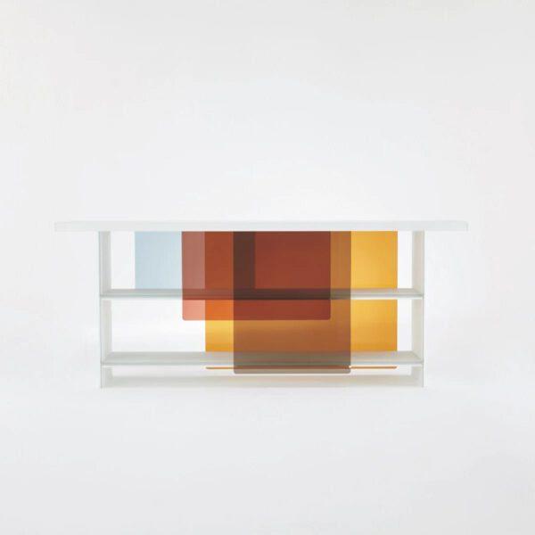 Gekleurde-Transparante-Glazen-Luxe-Design-Italiaanse-Boekenkast-GlasItalia