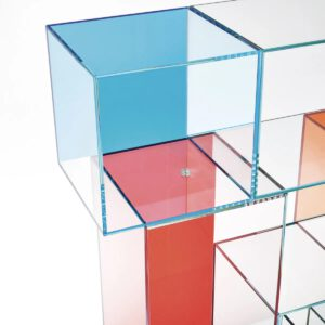 Glasitalia design boekenkast Quantum