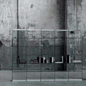 Glasitalia design boekenkast Space