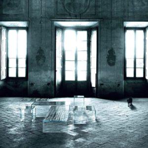 Glasitalia design bijzet- en salontafel Ghiacciolo Ponte