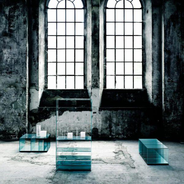 Italiaanse-Glazen-Luxe-Moderne-DeapSea-Boekenkast-GlasItalia