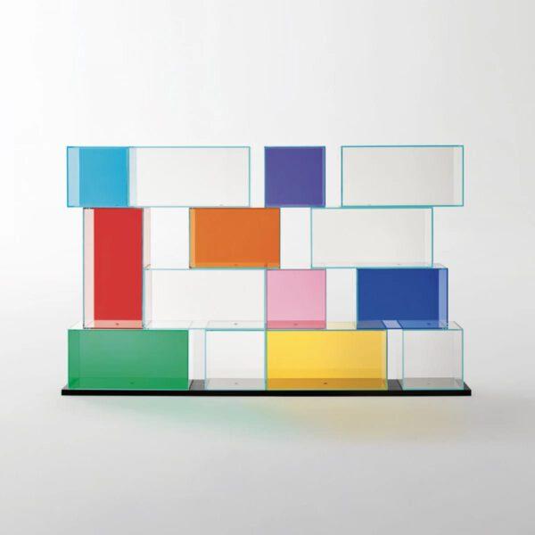 Luxe-Design-Glazen-Italiaanse-Wandmeubel-Boekenkast-Gekleurd-Transparant-Quantum-GlasItalia